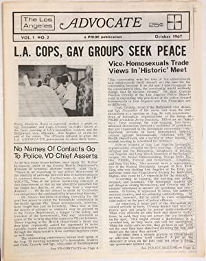 The Los Angeles Advocate; vol. 1, #2, October 1967