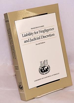 Liability for negligence and judicial discretion. Second: Parisi, Francesco