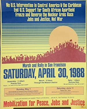 March and rally in San Francisco Saturday, April 30, 1988 [poster]