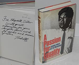 A passion for equality; George A. Wiley and the movement: Kotz, Nick and Mary Lynn Kotz