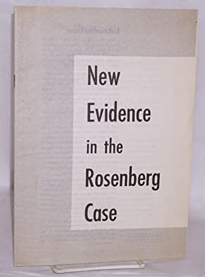 New evidence in the Rosenberg case