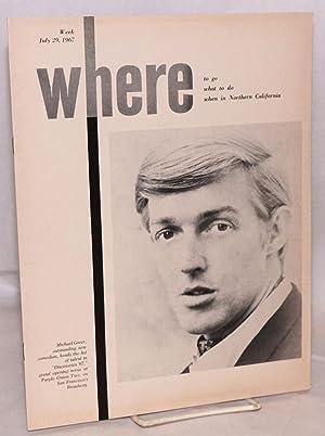 Where magazine: week July 29, 1967