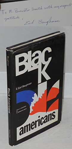 Black Americans; a psychological analysis, with a foreword by M. Brewster Smith: Baughman, Emmett. ...