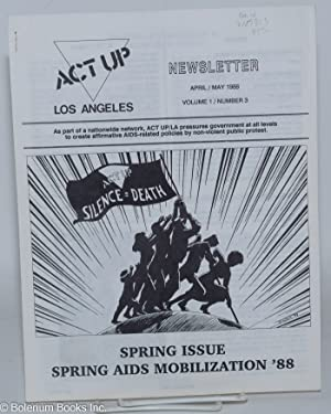 ACT UP / Los Angeles: Newsletter of the Aids Coalition to Unleash Power / Los Angeles, ...