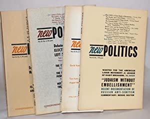 New politics; a journal of socialist thought. Vol. III, No. 1-4 (Winter 1964 - Fall 1964): Jacobson...
