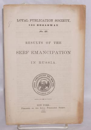 Results of the Serf Emancipation in Russia