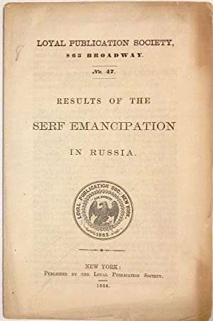 Results of the Serf Emancipation in Russia: Lang, Rev. J.