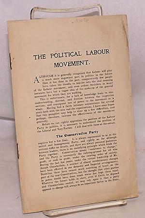 The Political Labour Movement