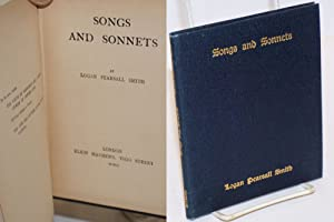 Songs and sonnets: Smith, Logan Piersall