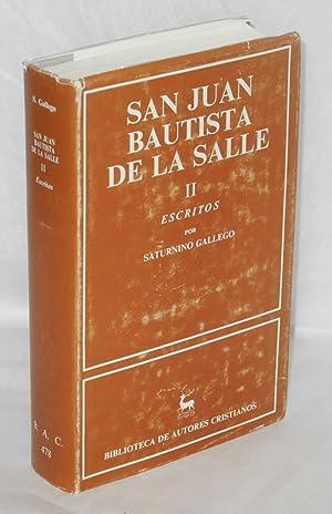 Vida y pensamiento de San Juan Bautista: Salle, San Juan