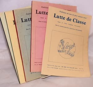 Class struggle / Lutte de classe: Organ of the Union Communiste (4th International) Nos. 1-4, ...