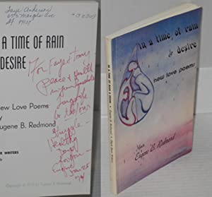 In a time of rain & desire; new love poems: Redmond, Eugene B.
