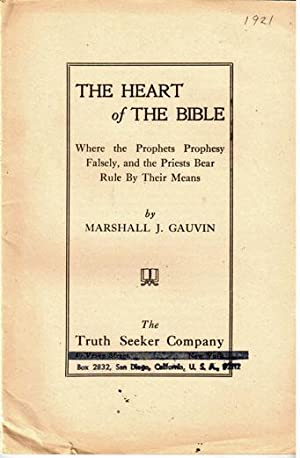 The heart of the Bible, where the prophets prophesy falsely, and the priests bear rule by their ...