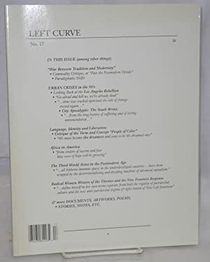 Left curve no. 17: Polony, Csaba, editor