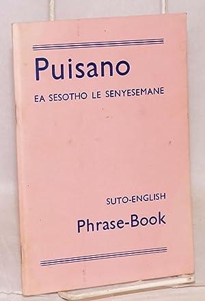 Puisano;; ea Sesotho le Senyesemane, e hlomathisellelitsoeng