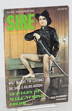 Sire: a Marquis magazine, volume one/number one, September 1968: Richards, Abe