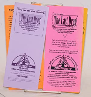 The Last Drag, South Bay [Four brochures about stopping smoking in the gay community]: The Last ...