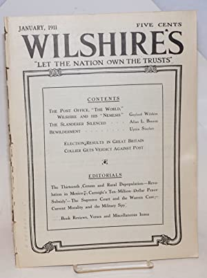 Wilshire's, vol. 15, no. 1, January, 1911: Wilshire, Gaylord, ed