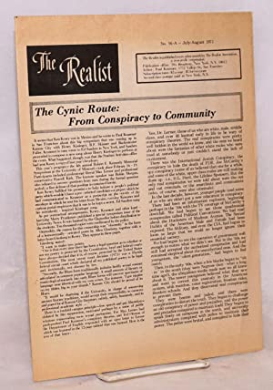 The realist [no.91-A]; The cynic route: from conspiracy to community: Krassner, Paul, editor