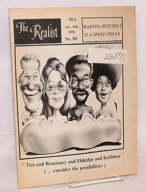 The realist [no.88]; January - Febuary, 1971. Martha Mitchell is a speed freak: Krassner, Paul, ...