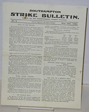 Southampton Strike Bulletin. No 6 (May 10th, 1926)