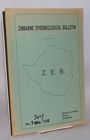 Zimbabwe Epidemiological Bulletin; no. 1 - 5 May - September, 1982: Ministry of Health