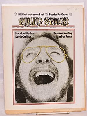 Ruling Stooge; issue no. 1, October 3,: Hoodoo Rhythm Devils