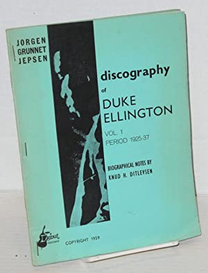 Discography of Duke Ellington; biographical notes by Knud H. Ditlevsen: Jepsen, Jorgen Grunnet