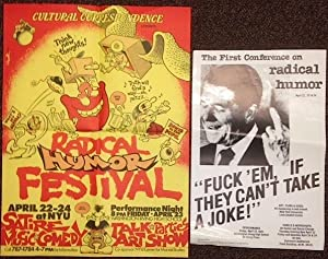 Cultural Correspondence presents Radical Humor Festival [two posters]