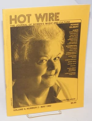 Hot wire: the journal of women's music and culture; vol. 8, #2, May 1992