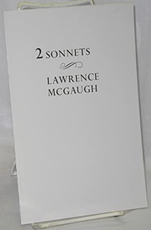 2 Sonnets: McGaugh, Lawrence