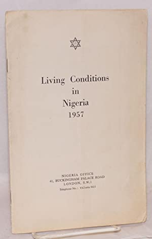 Living conditions in Nigeria 1957