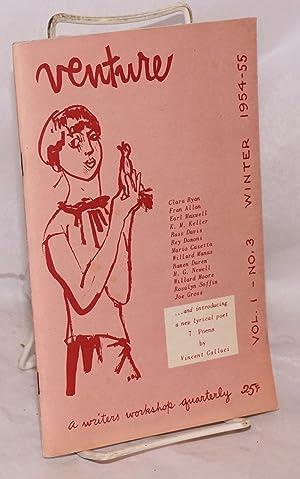 Venture; vol. 1, no. 3 winter 1954-55: Friedman, Joseph J., editor, Willard Manus et al.