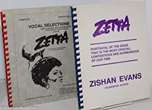 Zetta: a 3-act play with music, script and piano/vocal score: Evans, Zishan