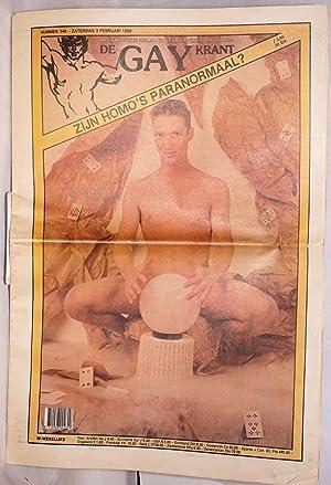 De gay krant: het grootste homo- en lesbienneblad in europa: nr. 148 - Zaterdag 3 Februari 1990;: ...