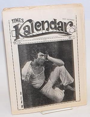 Kalendar vol. 1, issue K9, May 26, 1972 (aka Times Kalendar)