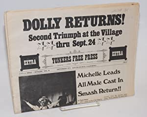 Yonkers free press vol. II, September 1972; Dolly returns!