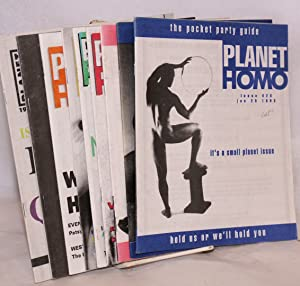 Planet Homo: the pocket party guide [broken run of 9 issues]: Sullivan, Brett, editor