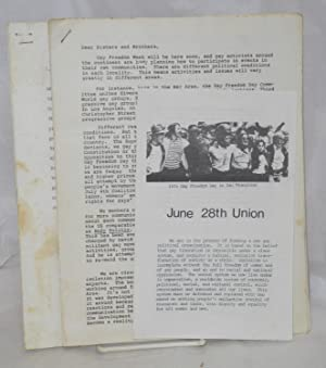 Three items from the June 28th Union]: June 28th Union
