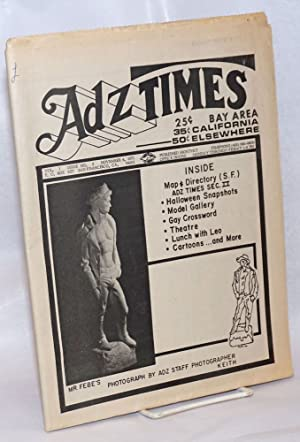 Adz Times; vol. 1, no. 2, November 1971: G.A.A. Warns; Gay Groups Beware - Co-optation by ...