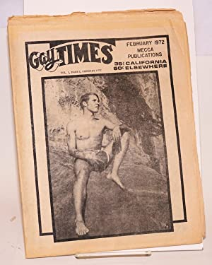 Gay Times: vol. 1, #5, February 1972 [formerly Adz Times]: Jay, Dick, editor, Reverend Ray ...