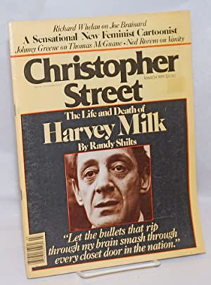 Christopher Street: vol. 3, no. 8, March 1979; The life and death of Harvey Milk: Ortleb, Charels L...