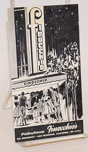 Fabulous Finocchio's [brochure]