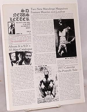 S. D. newsletter [Sierra Domino Newsletter] no. 6; Summer 1976: Sierra Domino Studio, Craig Calvin ...