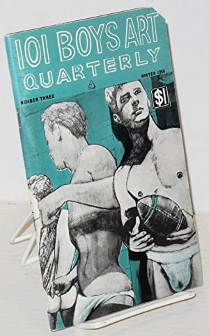 101 Boys art quarterly; #3, Winter issue: Jason, Johnny Ruiz, Conrad [aka Adam?]