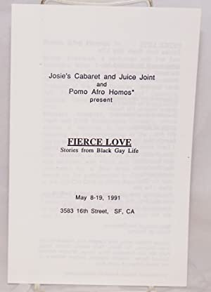 Fierce Love: stories from black gay life,: Pomo Afro Homos,