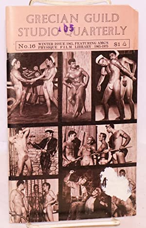 Grecian Guild Studio Quarterly: no. 16, winter 1965, featuring AMG's physique film library ...