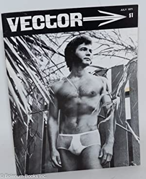 Vector; vol. 7, #7, July 1971 [incorrectly marked 6]: Mendenhall, George, editor, Richard Amory, et...