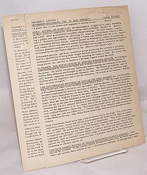 H. du B. Reports [two issues: vol.: du Berrier, Hilaire