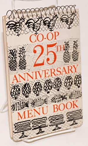 Co-op 25th anniversary menu book